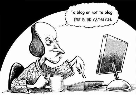 Et alvorlig skritt i en ny bloggers verden...